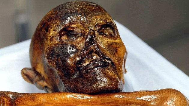 """Vor 25 Jahren wurde die Eismumie """"Ötzi"""" entdeckt (Bild: Südtiroler Museum für Archäologie)"""