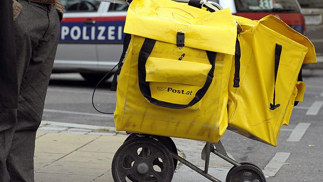 Wiener Postler entsorgt 1.038 Briefe im Müll (Bild: APA/HARALD SCHNEIDER (Symbolbild))