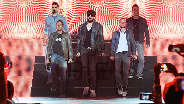 Backstreet Boys können noch immer Herzen brechen (Bild: Andreas Graf)