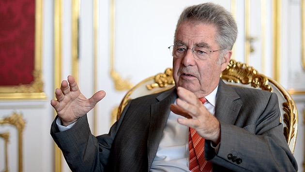 Heinz Fischer gegen Strafen für Verweigerung (Bild: APA/Roland Schlager)