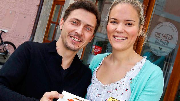 Die Salzburger Restaurantbesitzer Christian und Julia Platzer (Bild: Markus Tschepp)