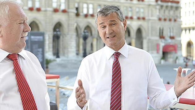 """Georg Niedermühlbichler (SPÖ): """"Die Grünen sollen die Autofahrer nicht mehr pflanzen."""" (Bild: APA/HERBERT NEUBAUER)"""