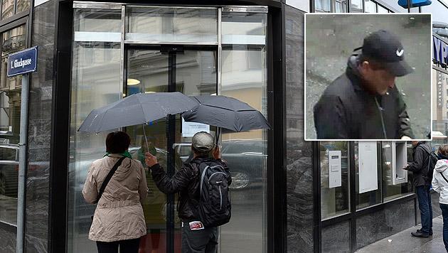 Nach Bankraub in Wien: Belohnung ausgelobt (Bild: APA/ROLAND SCHLAGER, Polizei)
