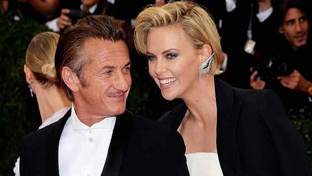 Sean Penn und  Charlize Theron wollen heiraten (Bild: AFP)