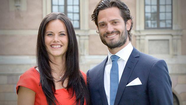 So cool wird die Schweden-Hochzeit! (Bild: APA/EPA/JONAS EKSTROMER)