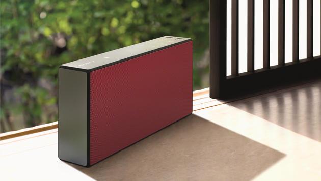 Sonys ansehnlicher SRS-X-Serie gehören Bluetooth-Boxen verschiedener Preis- und Leistungsklassen an. (Bild: Sony)