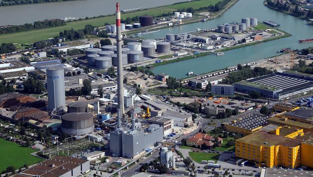 Im Fernheizkraftwerk Linz kam es zu dem dramatischen Unfall. (Bild: Linz AG)