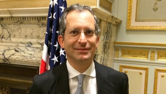 US-Botschafter Anthony L. Gardner im Gespräch über das Freihandelsabkommen (Bild: Gregor Brandl)