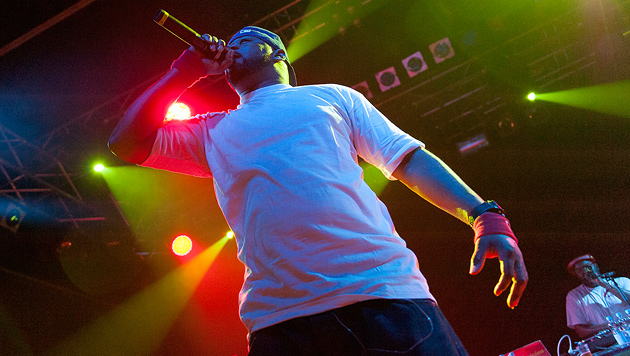 Ghostface Killah reiste in alte Hip-Hop-Zeiten (Bild: Andreas Graf)
