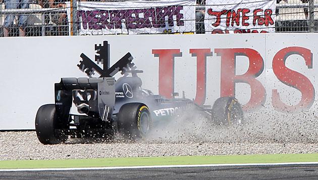 Hamilton plagen vor Ungarn-GP Rückenschmerzen (Bild: AP)