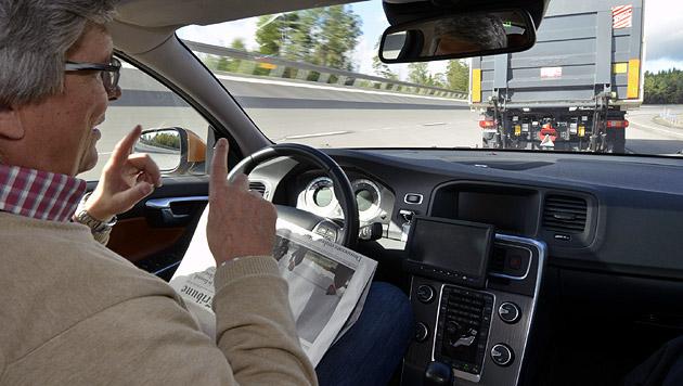 """VW-Digitalchef: """"Führerschein künftig überflüssig"""" (Bild: Volvo)"""