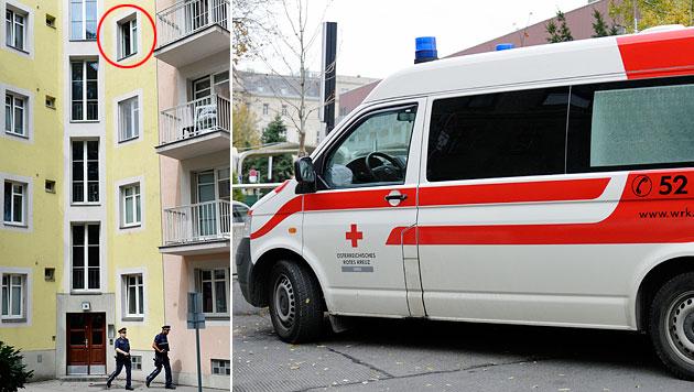 Erneut Kind in Wien aus Fenster gestürzt (Bild: APA/Rober Jaeger, Andreas Graf (Symbolbild))
