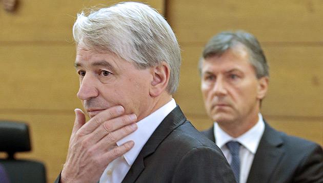 Ex-Hypo-Vorstand Wolfgang Kulterer (Bild: APA/Gert Eggenberger)