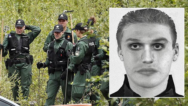 Mord in Bayern: Phantombild von Täter erstellt (Bild: Markus Tschepp, APA/POLIZEIPRÄSIDIUM OBERBAYERN)