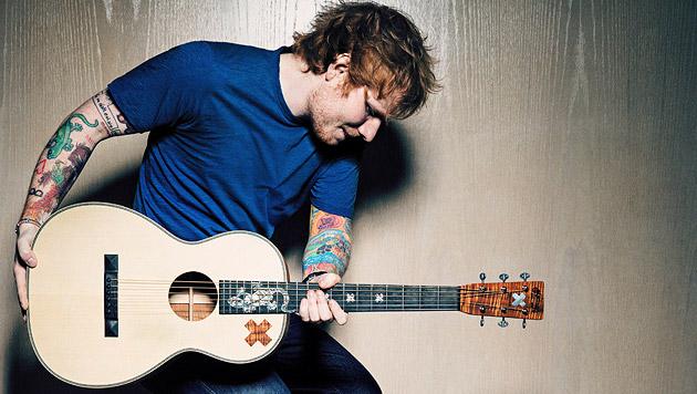 Durchstarter Ed Sheeran: Herzbube der Superstars (Bild: Warner Music)