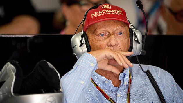 Lauda übt deftige Kritik an McLaren und Ferrari (Bild: APA/EPA/DAVID EBENER - POOL)