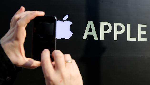 Run auf Apple-Aktie kurz vor Start neuer iPhones (Bild: AP)