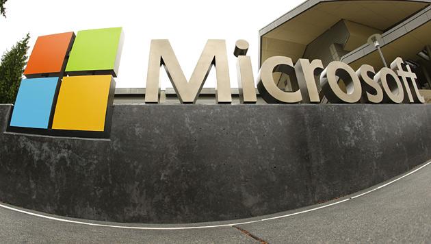Umbau- und Sparkosten drückten Microsoft-Gewinn (Bild: AP)