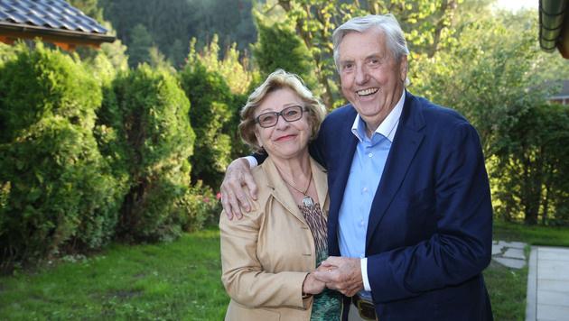 Karl Moik mit Gattin Edith (Bild: Fran Neumayr)