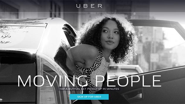Berlin verbietet umstrittenen Fahrdienst Uber (Bild: uber.com)