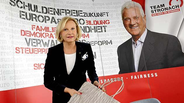 Team Stronach: Wiener Landesparteiobfrau tritt ab (Bild: APA/Herbert Pfarrhofer)