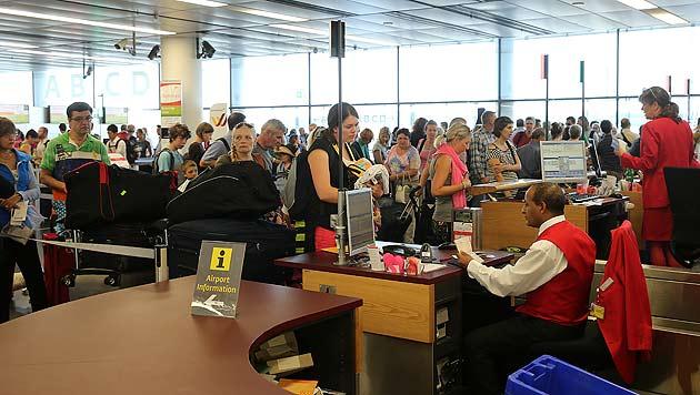 AUA fliegt wieder nach Tel Aviv - Passagiere froh (Bild: Peter Tomschi)