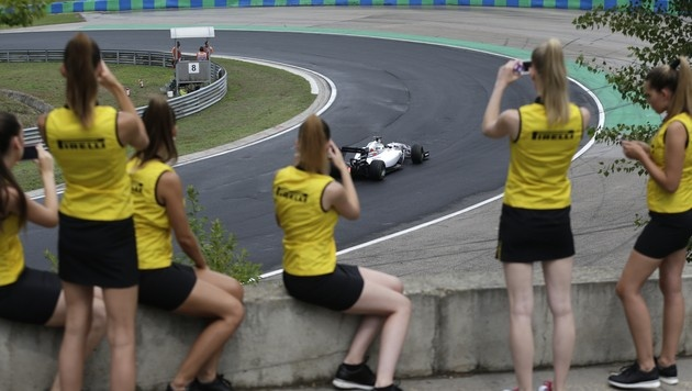 Hungaroring: Ricciardo gewinnt turbulentes Rennen (Bild: AP)