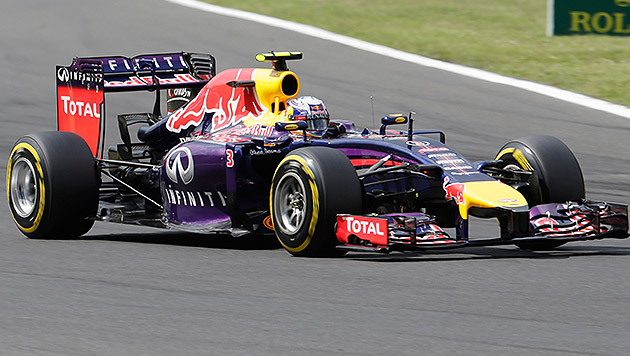 "Ricciardo gesteht: ""Musste um den Sieg zittern"" (Bild: AP)"