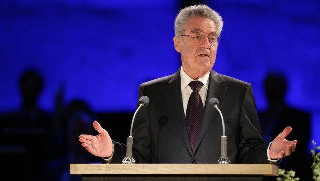 Bundespräsident Heinz Fischer hält seine Eröffnungsrede. (Bild: APA/NEUMAYR/MMV)