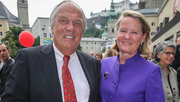 Alexander und Doraja Eberle (Bild: APA/NEUMAYR/MMV)
