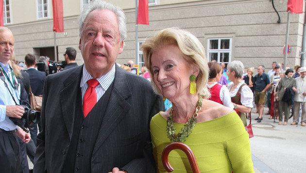 Johannes Graf Walderdorf und Elisabeth Gürtler (Bild: APA/NEUMAYR/MMV)