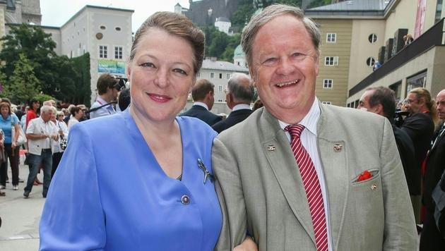 Christine und Endre Graf Esterhazy (Bild: APA/NEUMAYR/MMV)