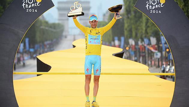Italien feiert Tour-de-France-Triumphator Nibali