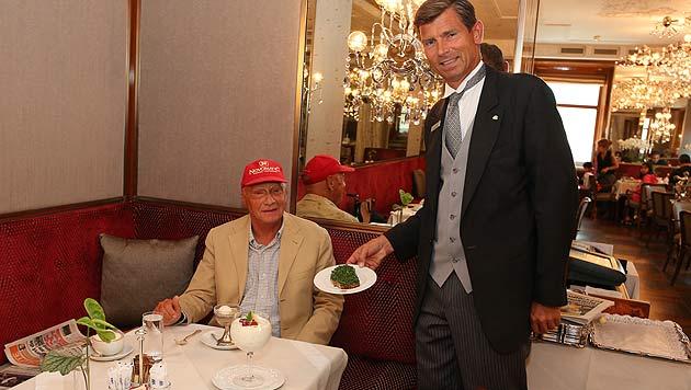 """Auf ein """"Niki Lauda""""-Frühstück ins Kaffeehaus (Bild: Café Imperial Wien)"""