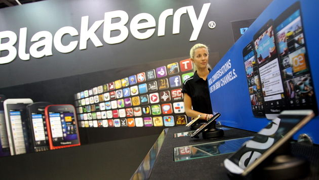 """Blackberry-Firmenchef: """"Wir sind außer Gefahr"""" (Bild: APA/EPA/Ali Haider)"""