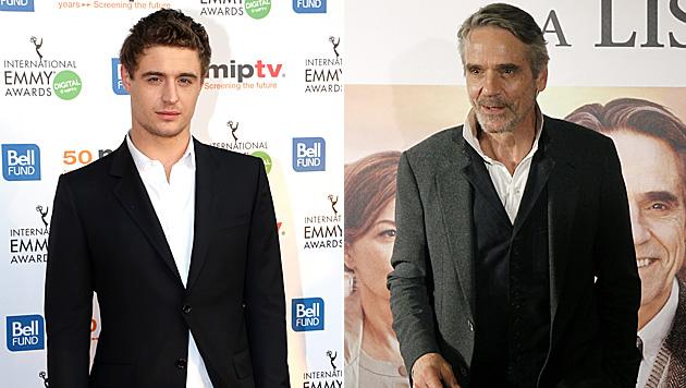 Max Irons folgt seinem Vater Jeremy ins Filmgeschäft. (Bild: SEBASTIEN NOGIER/EPA/picturedesk.com, APA/EPA/JUAN CARLOS HIDALG)