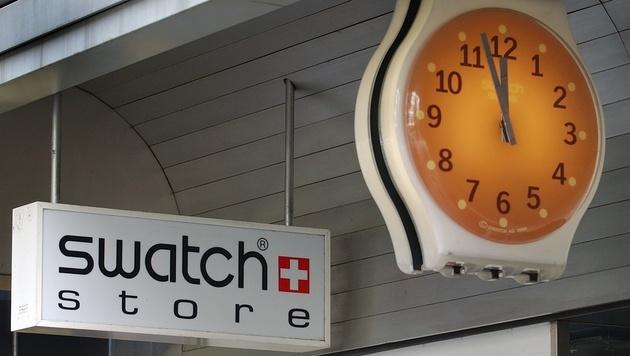 Swatch plant eigene Fitness-Smartwatch für 2015 (Bild: APA/KEYSTONE/EDDY RISCH)
