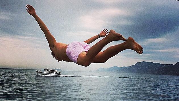 """Happy Birthday V"", schrieb Heidi Klum zu diesem Foto auf Instagram. (Bild: instagram.com/heidiklum)"