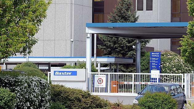 Das Baxter-Forschungszentrum in Orth/Donau (Bild: APA/Harald Schneider)