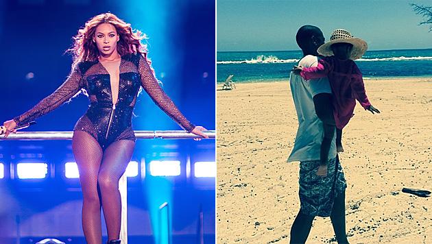 Beyonce postet Foto gegen Trennungsgerüchte (Bild: Invision for Parkwood Entertainment, instagram.com/beyonce)