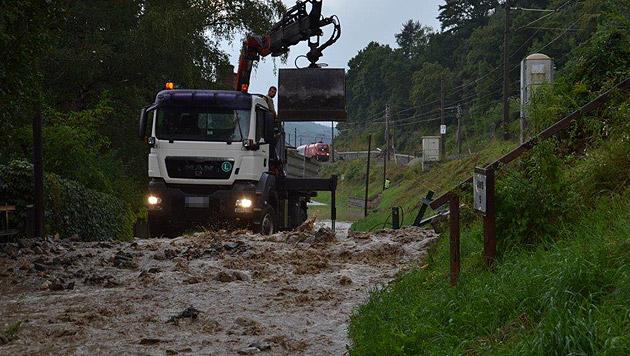 Ganz Österreich von heftigen Unwettern heimgesucht (Bild: Einsatzdoku.at)