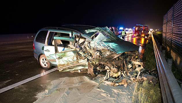 Geisterfahrer-Unfall: Lenker hat keine Erinnerung (Bild: APA/WERNER KERSCHBAUMMAYR)