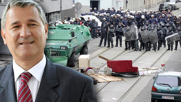 SPÖ-Landesgeschäftsführer Georg Niedermühlbichler (Bild: APA/HERBERT OCZERET, APA/HERBERT NEUBAUER)