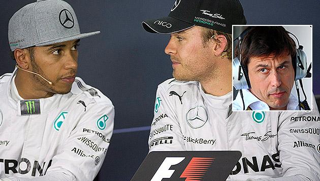 """Mercedes-F1-Boss Wolff: """"Sache ist aus der Welt"""" (Bild: AP, APA/EPA/JENS BUETTNER)"""