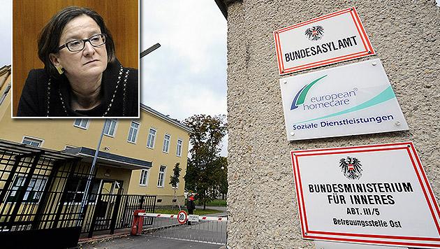 Asyl: Zweifel an den Plänen Mikl-Leitners (Bild: APA/HANS KLAUS TECHT, APA/HERBERT PFARRHOFER)