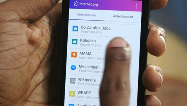 Facebook-App bringt Gratis-Internet nach Afrika (Bild: vimeo.com)