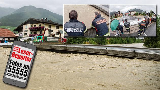 Ganz Österreich von heftigen Unwettern heimgesucht (Bild: APA/EXPA/ JFK)