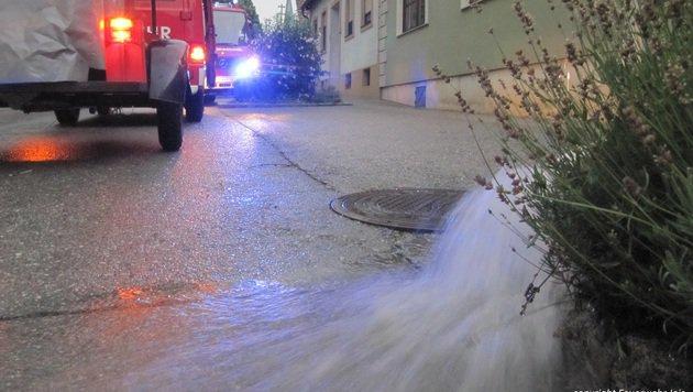 Jois im Burgenland (Bild: Feuerwehr Jois)