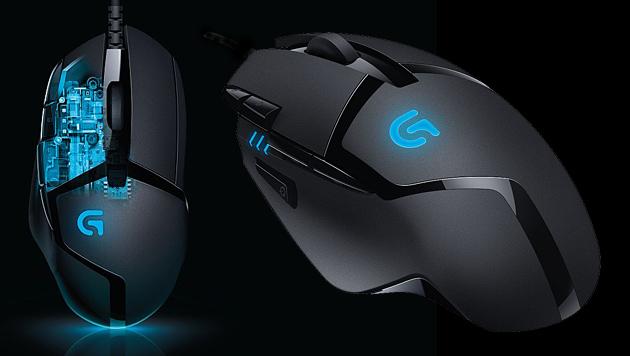 Logitech enthüllt schnellste Gaming-Maus der Welt (Bild: Logitech, krone.at-Grafik)