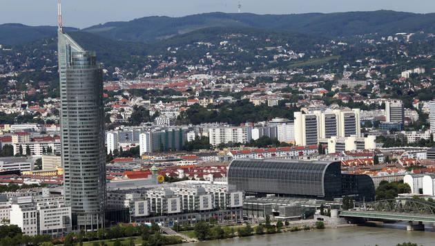 Oberösterreicher kaufen Wiener Millennium Tower (Bild: Peter Tomschi)